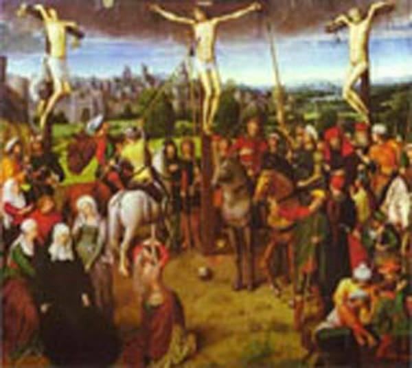 crucifixion 1491 XX szepmuveseti muzeum budapest hungary